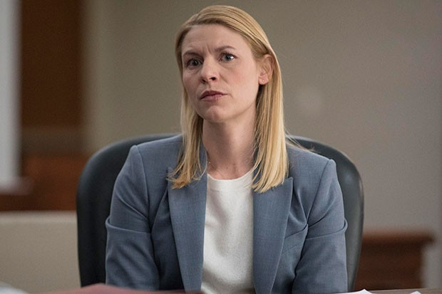 Claire Danes in Homeland, Channel 4, SL