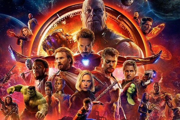 Avengers: Infinity War's poster (Marvel, HF)