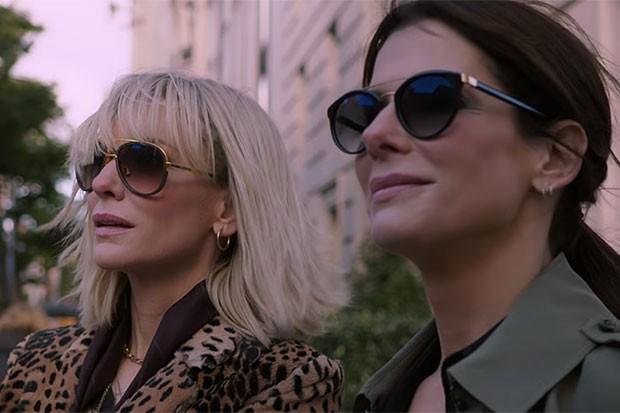 Sandra Bullock and Cate Blanchett in Ocean's 8, YouTube, SL