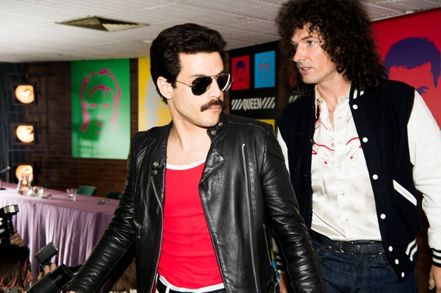 DF-14964_R – Rami Malek (Freddie Mercury) and Gwilym Lee (Brian May) star in Twentieth Century Fox's BOHEMIAN RHAPSODY. Photo Credit: Alex Bailey.