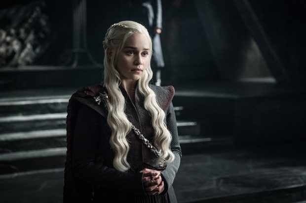 Game Of Thrones Season 07 First Look Emilia Clarke as Daenerys Targaryen ©2017 Helen Sloan/HBO  Sky pics, TL