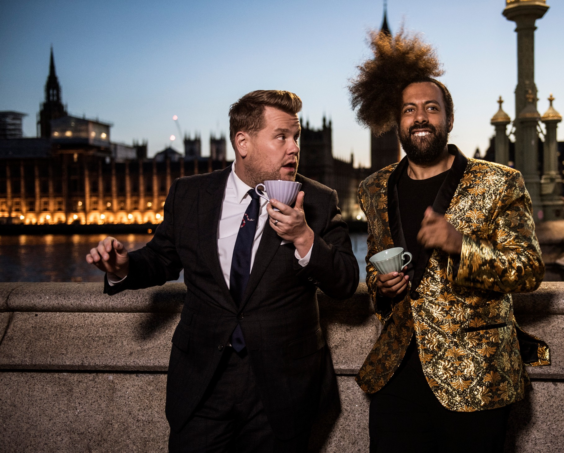 James Corden brings The Late Late Show to the UK (Sky)