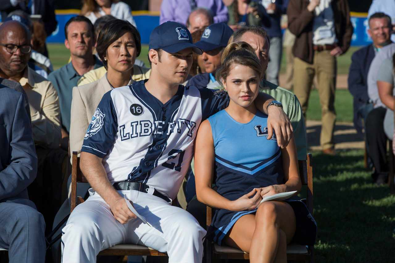 Bryce and Chloe in 13 Reasons Why season 2 (Netflix)
