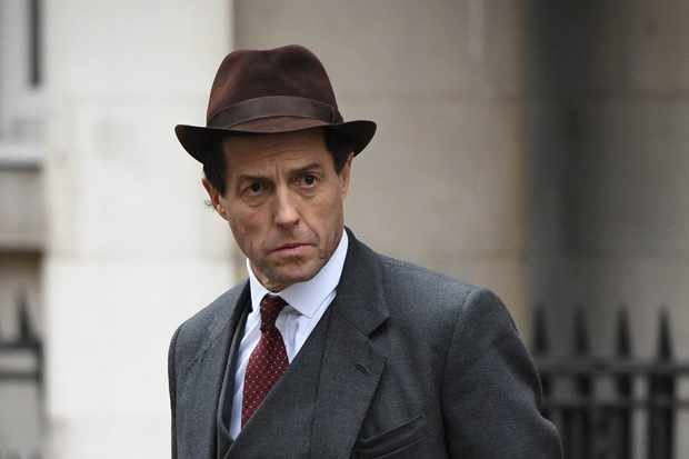 WARNING: Embargoed for publication until 00:00:01 on 02/10/2017 - Programme Name: A Very English Scandal - TX: 01/10/2017 - Episode: n/a (No. n/a) - Picture Shows: First look picture of Hugh Grant playing Jeremy Thorpe in BBC One's A Very English Scandal Jeremy Thorpe (HUGH GRANT) - (C) Blueprint Television Ltd - Photographer: Kieron McCarron TL