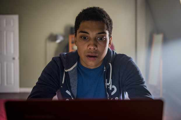 Chance Perdomo in Killed By My Debt (BBC, EH)