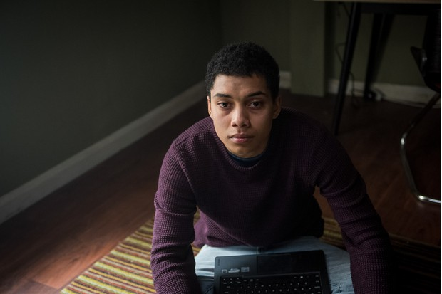 WARNING: Embargoed for publication until 00:00:01 on 22/05/2018 - Programme Name: Killed By My Debt - TX: n/a - Episode: Killed By My Debt (No. n/a) - Picture Shows: Jerome Rogers (CHANCE PERDOMO) - (C) BBC - Photographer: Parisa Taghizadeh