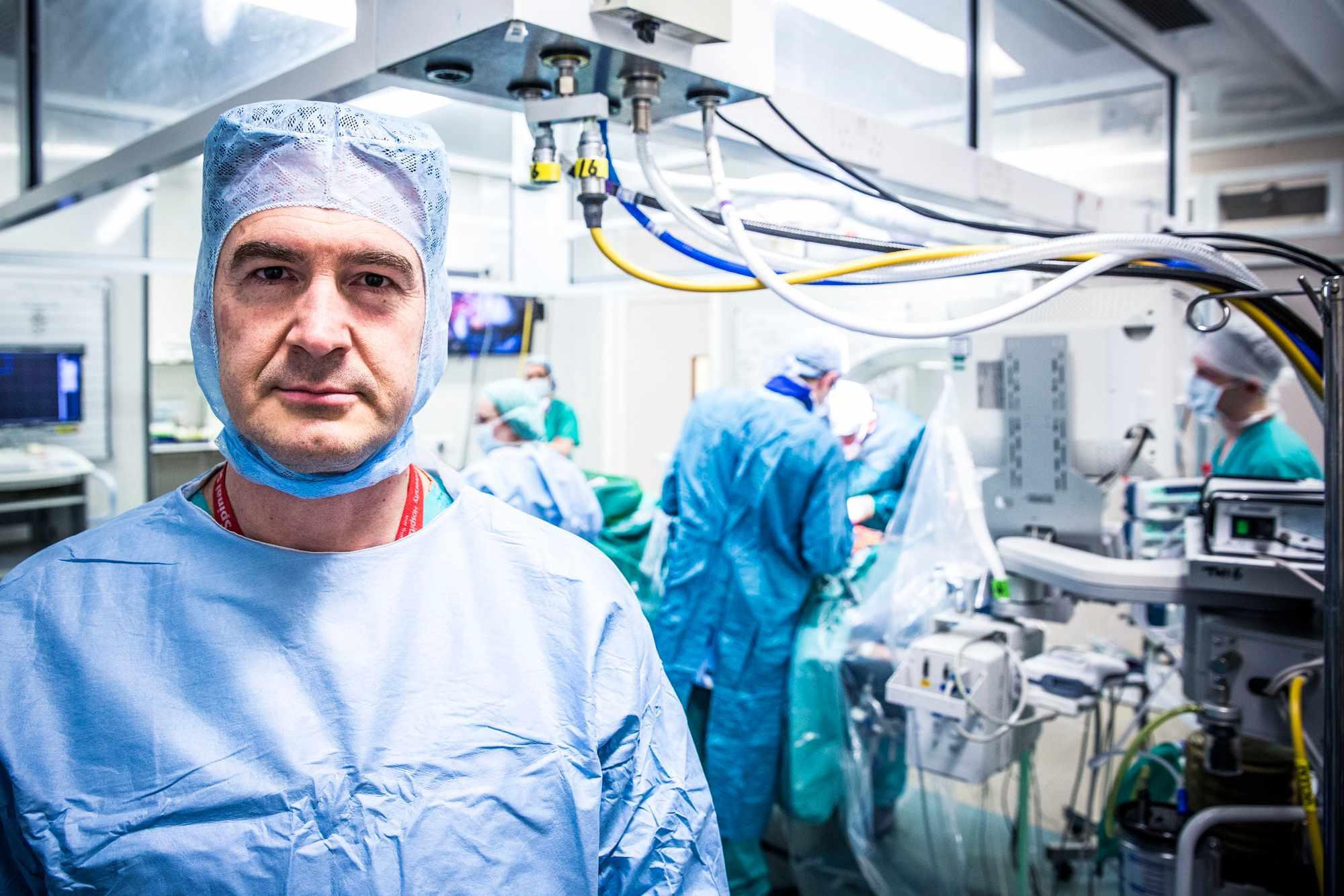 Programme Name: Hospital - TX: n/a - Episode: n/a (No. 6) - Picture Shows:  Bronek Boszczyk - (C) Ryan McNamara - Photographer: Ryan McNamara