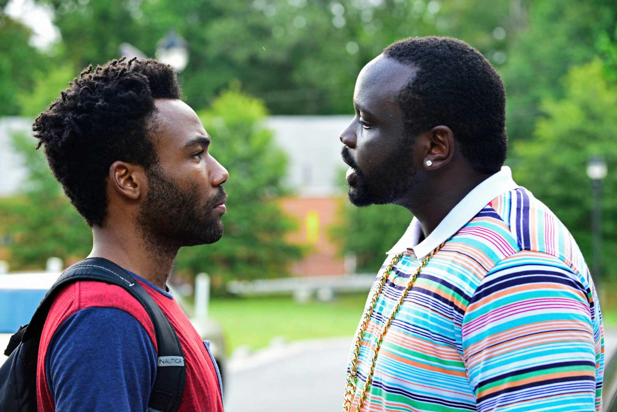 Programme Name: Atlanta - TX: n/a - Episode: n/a (No. 1) - Picture Shows: (L-R) Earnest 'Earn' Marks (DONALD GLOVER), Alfred 'Paper Boi' Miles (BRIAN TYREE HENRY) - (C) Copyright 2015, FX Networks - Photographer: Unknown