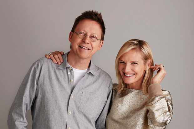Fans have been less than impressed with Radio 2's pairing of Simon Mayo and Jo Whiley (BBC Pictures)