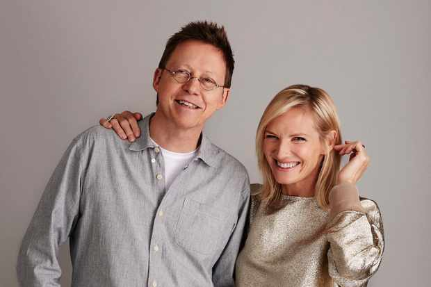 Fans were less than impressed with Radio 2's pairing of Simon Mayo and Jo Whiley (BBC Pictures)