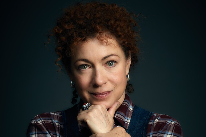 Alex Kingston as Sarah Bishop in A Discovery of Witches (Sky One, HF)
