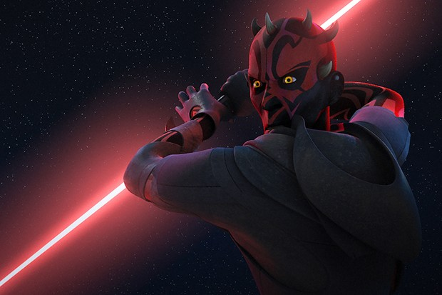 Maul in Star Wars Rebels (LucasFilm, Sky, HF)