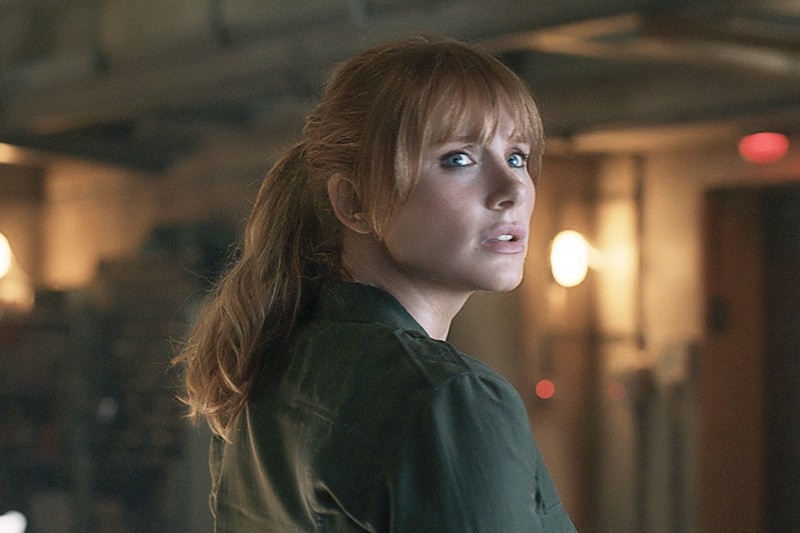 Bryce Dallas Howard as Claire Dearing in Jurassic World: Fallen Kingdom)