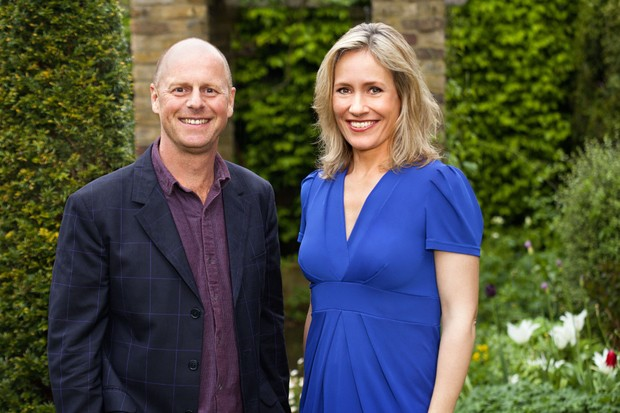 Joe Swift, Sophie Raworth (BBC)