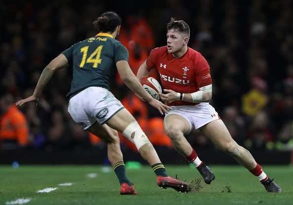 During the rugby union international match between Wales and South Africa at the Principality Stadium on December 2, 2017 in Cardiff, Wales.