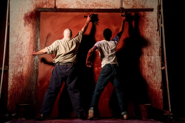 RED by Logan, , Writer - John Logan, Director - Michael Grandage, Designer - Christopher Oram, Wyndhams Theatre, London, UK, Credit: Johan Persson