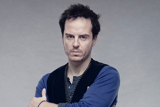 Andrew Scott plays Edgar in King Lear