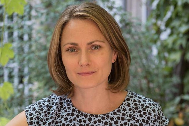 Anna Madeley plays Patrick Melrose's wife Mary
