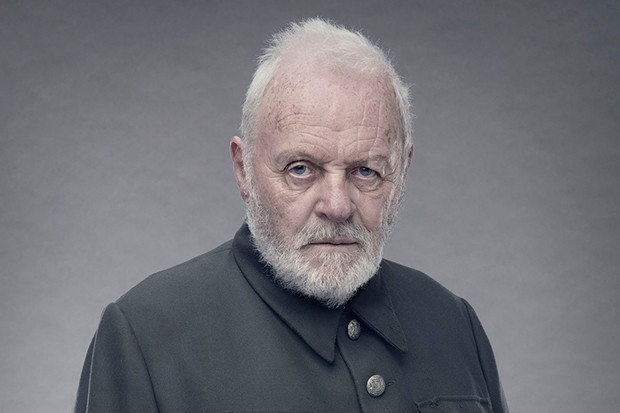 Anthony Hopkins plays King Lear