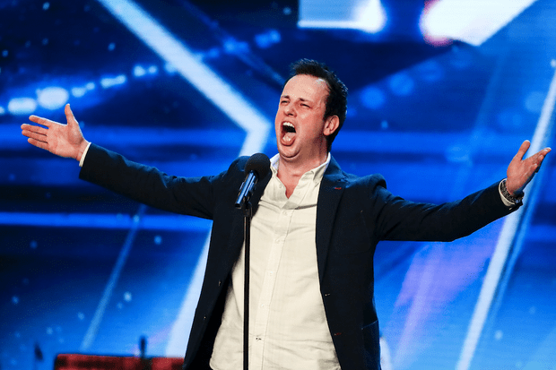 Britain's Got Talent Ronan Busfield