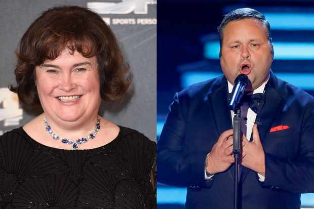Britain's Got Talent Susan Boyle Paul Potts