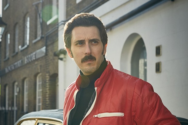 Blake Harrison plays Andrew Newton in A Very English Scandal
