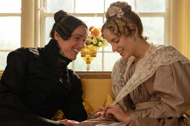 Suranne Jones and Sophie Rundle in Gentleman Jack (BBC, EH)