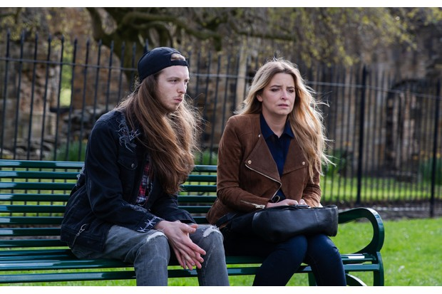 EMMERDALE JAMES MOORE 'RYAN' AND EMMA ATKINS 'CHARITY'