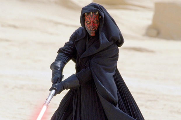 Star Wars Episode I - The Phantom Menacestarring Ray Park as Darth Maul (LucasFilm, Sky, HF)