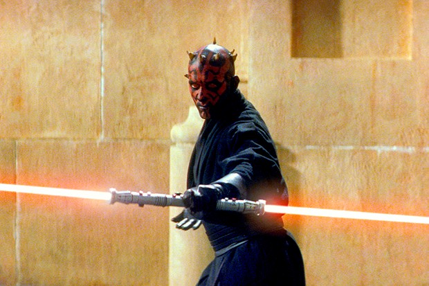 Star Wars Episode I - Phantom Menacestarring Ray Park as Darth Maul (LucasFilm, Sky, HF)