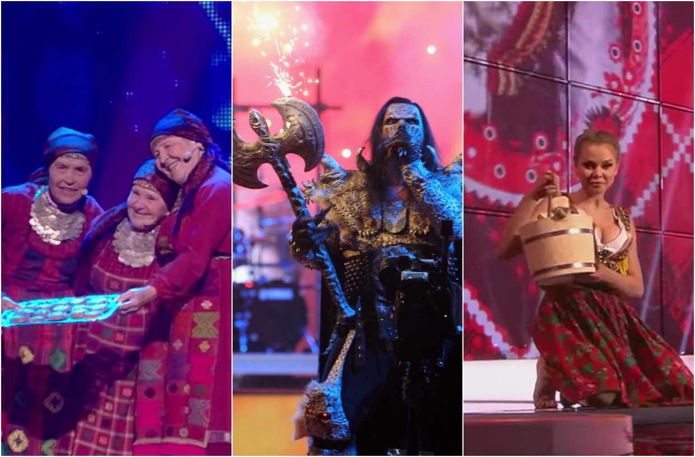 Most memorable bizarre Eurovision performances