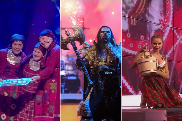 Most memorable bizarre Eurovision performances