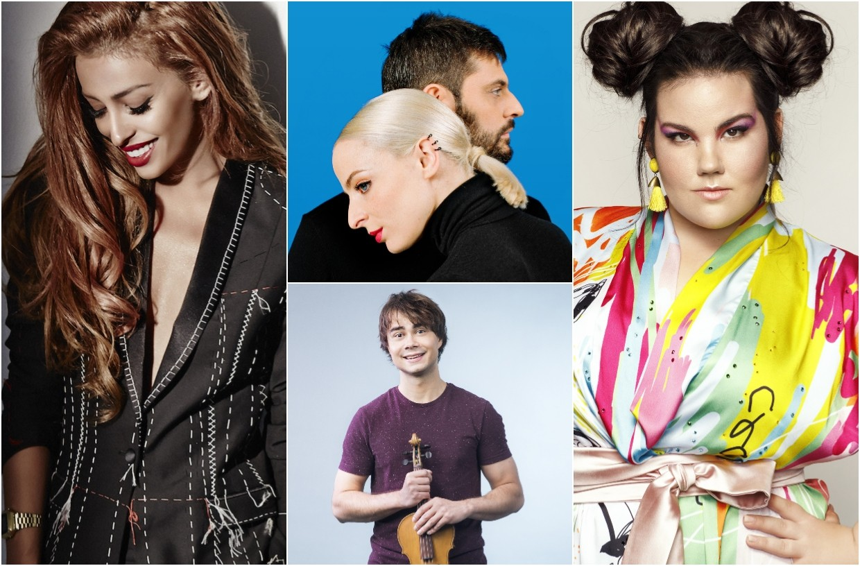 Eurovision 2018 Favourites Cyprus, France, Israel and Norway