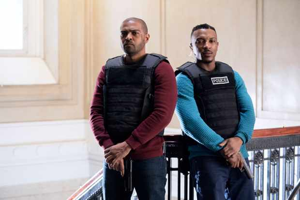 Noel Clarke and Ashley Walters in Bulletproof (Sky, EH)