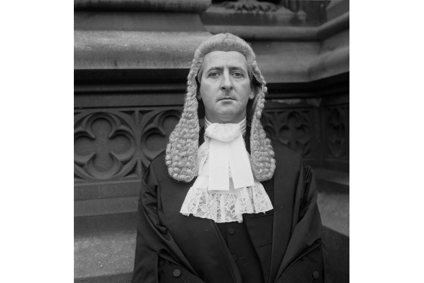 December 1971: George Alfred Carman (1929 - 2001) on his appointment as a QC. (Getty, TL)