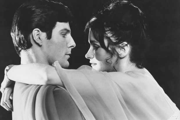 Actors Christopher Reeve and Margot Kidder in a scene from the movie 'Superman', 1978. (Getty)