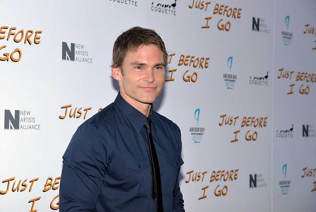 """HOLLYWOOD, CA - APRIL 20: Actor Seann William Scott attends a screening of Anchor Bay Entertainment's film """"Just Before I Go"""" at ArcLight Hollywood on April 20, 2015 in Hollywood, California.  (Photo by Michael Tullberg/Getty Images)"""