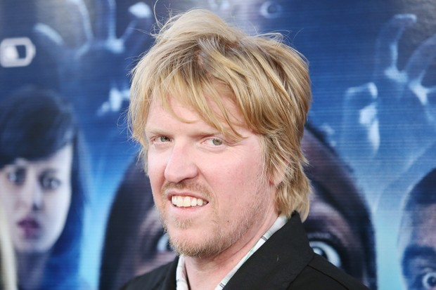 "LOS ANGELES, CA - APRIL 16: Jake Busey arrives at the Los Angeles premiere of ""A Haunted House 2"" held at Regal Cinemas L.A. Live on April 16, 2014 in Los Angeles, California. (Photo by Michael Tran/FilmMagic)"
