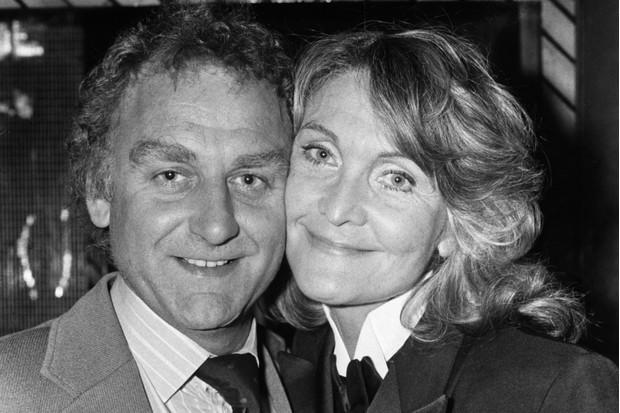 Hancock with husband John Shaw in 1980