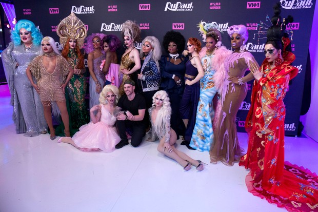 The contestants of RuPaul's Drag Race season 10