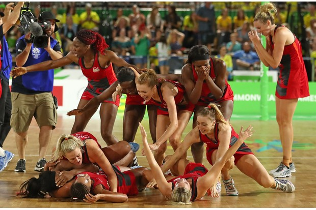 Netball Commonwealth Games (Getty)