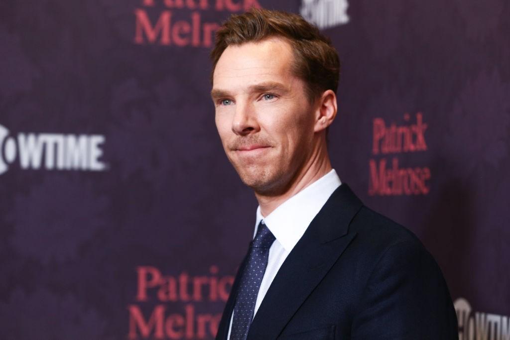 Benedict Cumberbatch at the Patrick Melrose premiere in LA