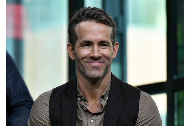 "NEW YORK, NY - MAY 14: (EXCLUSIVE COVERAGE) Actor/producer Ryan Reynolds visits Build Series to discuss ""Deadpool 2"" at Build Studio on May 14, 2018 in New York City. (Photo by Slaven Vlasic/Getty Images)"