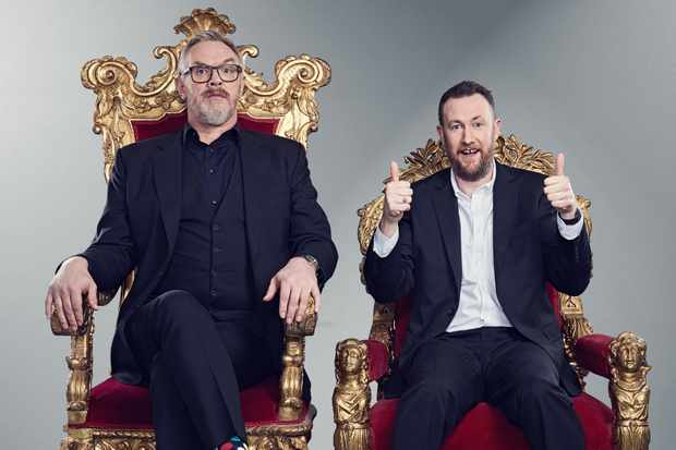 Taskmaster - Series 6 - Greg Davies and Alex Horne