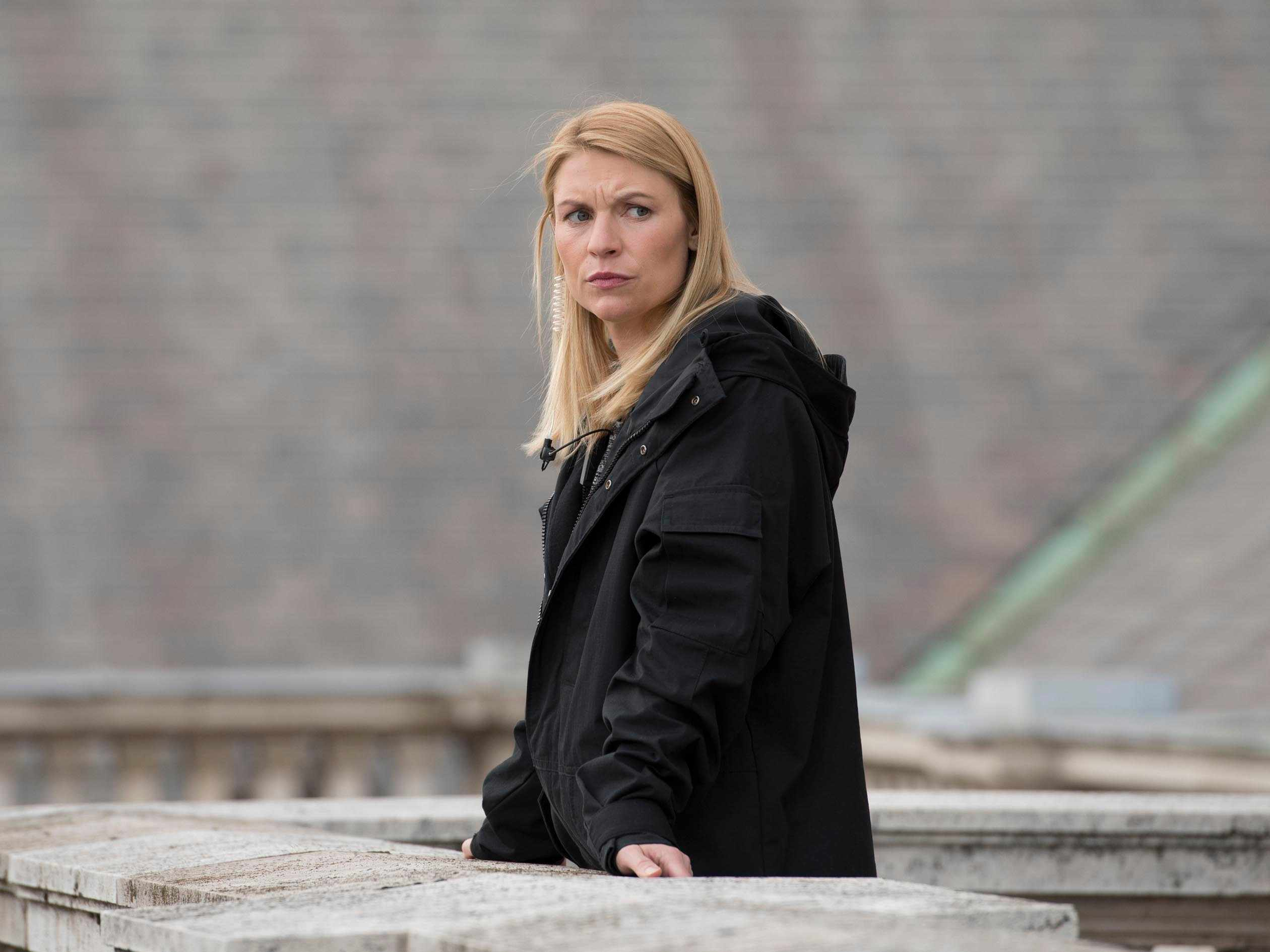 Claire Danes in Homeland (Channel 4, EH)