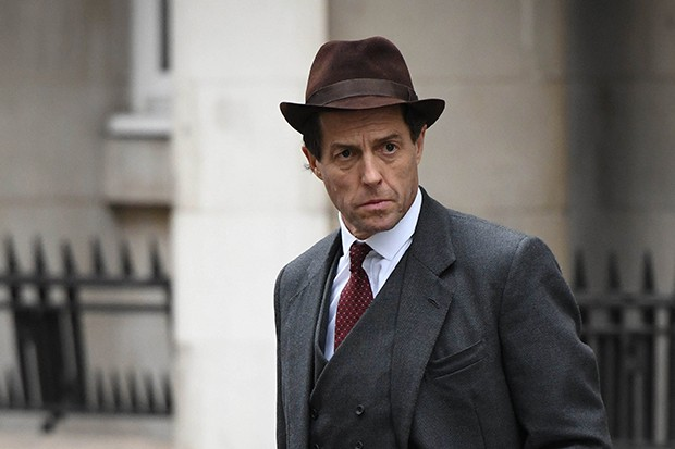 Hugh Grant plays Jeremy Thorpe in A Very English Scandal