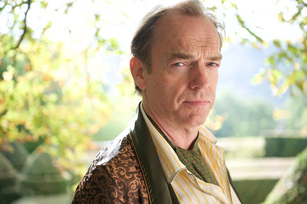 Hugo Weaving as Patrick's dad David Melrose