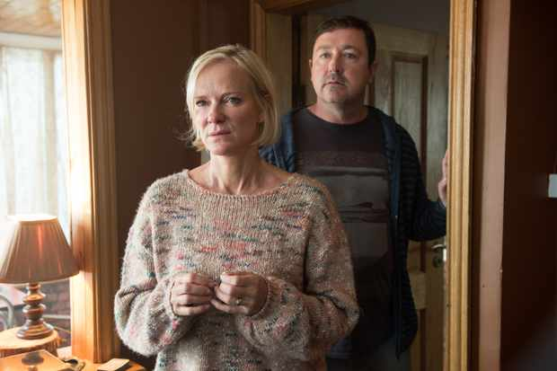 Hermione Norris and Daniel Ryan in Innocent