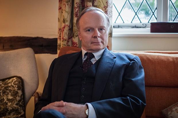 Jason Watkins plays Emlyn Hooson in A Very English Scandal