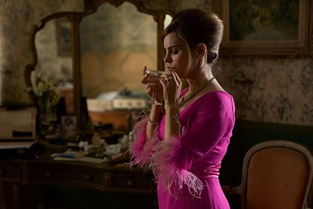 Jennifer Jason Leigh plays Eleanor Melrose in Patrick Melrose